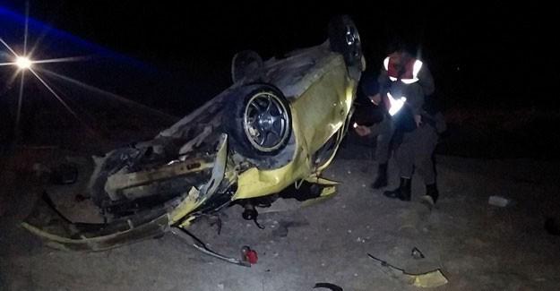 Kaza Sonrası Donma Tehlikesi Geçiren Çift Bulundu