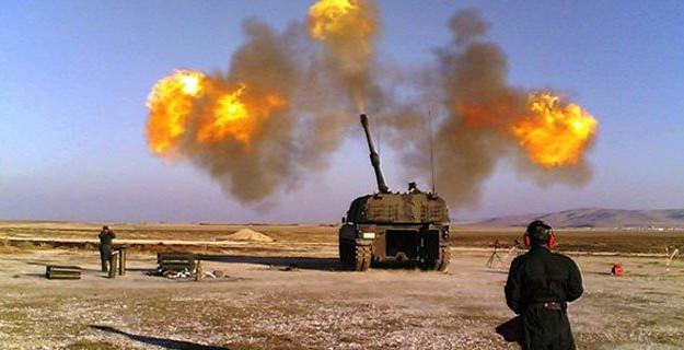 Kilis'e Roket Atmaya Hazırlanan IŞİD'liler Vuruldu