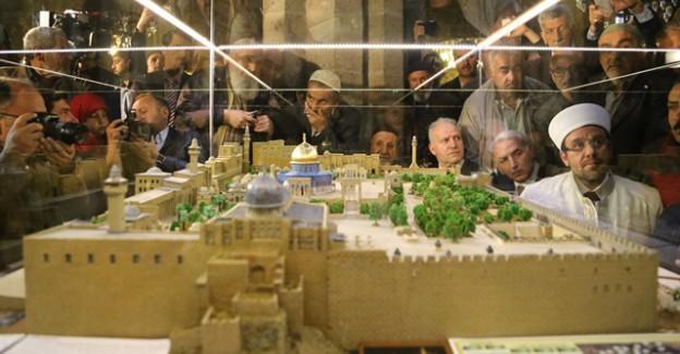 Kudüs toprağından Mescid-i Aksa