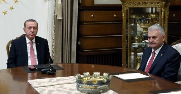 Külliye'de kritik Erdoğan-Yıldırım görüşmesi