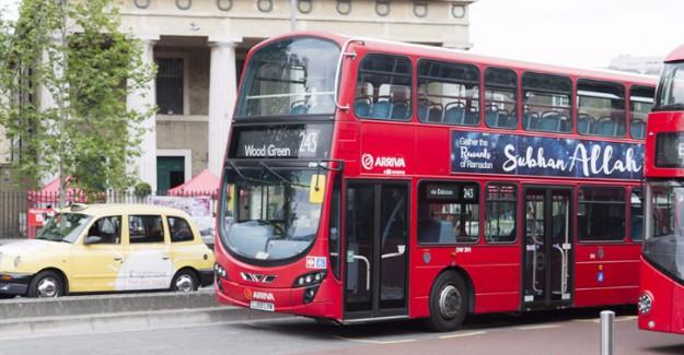 Londra'daki Otobüslerin Üzerinde 'Sübhanallah' İlanları!