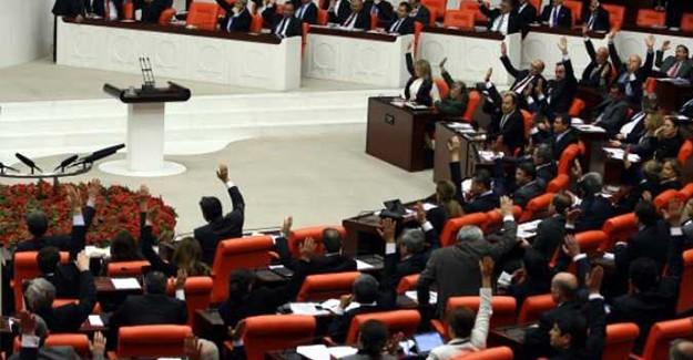Meclisten Teklif Maddelerinin Görüşülmesine Kabul Kararı Çıktı