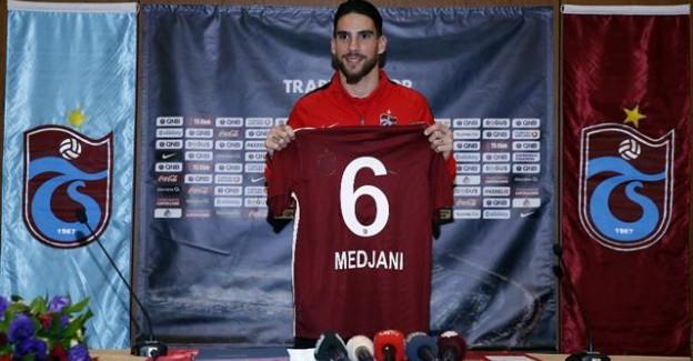 Medjani Yeniden Trabzonspor'da!