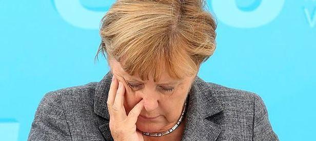 Merkel'e Silahlı Saldırı Girişimi