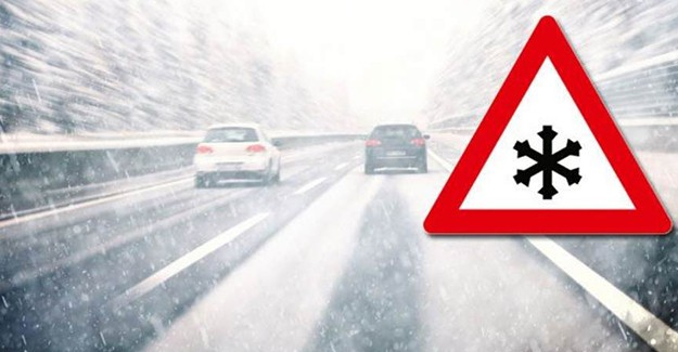 Meteoroloji Uyardı! Buzlanmaya Dikkat Edin