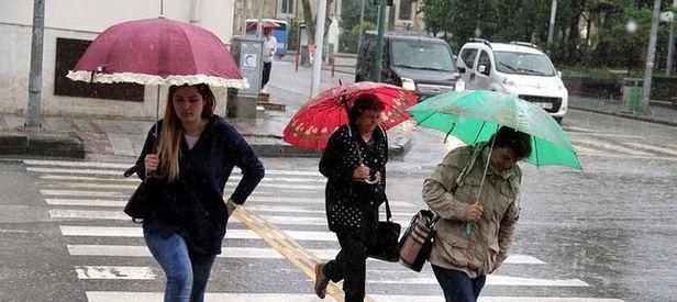 Meteorolojiden bazı illere yağış uyarısı