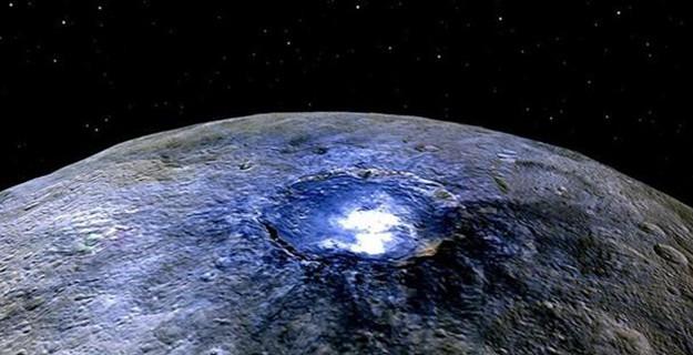 NASA Yeni Keşfini Açıkladı: Buzullarla Kaplı