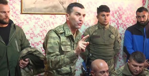 O Komutan: Mehmetçiği Hakkari Halkına Emanet Ediyorum