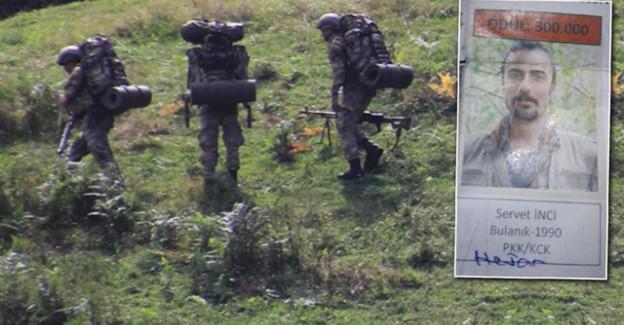 Ordu'da Öldürülen Teröristin Başına 300 Bin Ödül