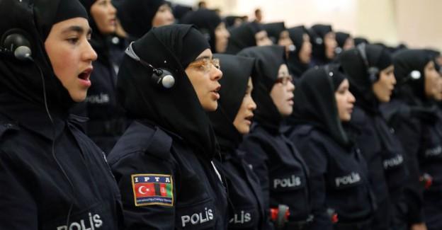 Özgürlüğün Kapsamı Genişledi; Kadın Polise Başörtüsü Serbest