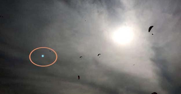 Pilotların 'Gördük' Dediği Cismi Vatandaş da Fotoğrafladı!
