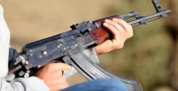 PKK'lılar Sivil Aracı Taradı