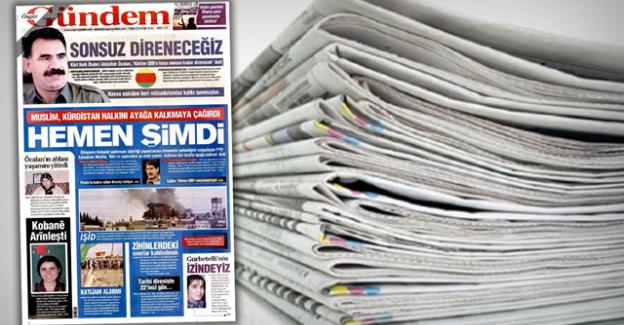 Mücadeleye Devam: PKK'nın Sesi Kesildi, O Gazete Kapatıldı!