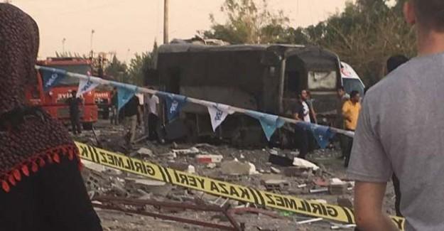 Polis Aracının Geçişinde Büyük Patlama! 2 Şehit, 19 Yaralı
