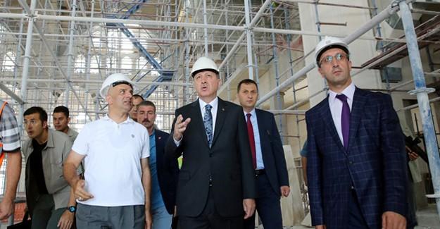 Reis Gittiği Her Yerde Türkiye'nin Elçisi İnşaat Şirketlerine Özel Önem Veriyor