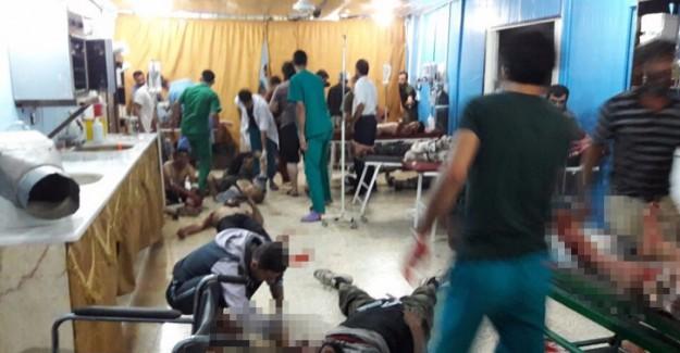 Reyhanlı Sınırında Şiddetli Patlama! Çok Sayıda Ölü ve Yaralılar Var
