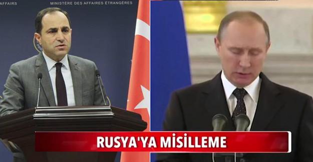 Rusya'ya Sert Misilleme: Yazdık Bir Kenara!