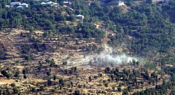 Şemdinli'de PKK'dan Hudut Bölüğüne Saldırı