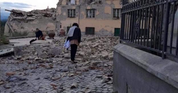 Şiddetli Deprem! Kent Yerle Bir Oldu