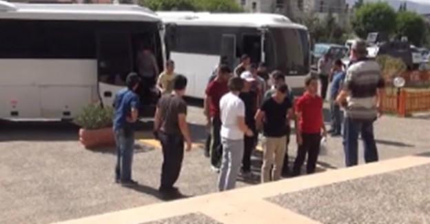 Siirt'te 50 Asker Tutuklandı