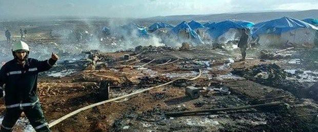 Sınırda Sığınmacı Kampı Vuruldu: 28 Ölü!
