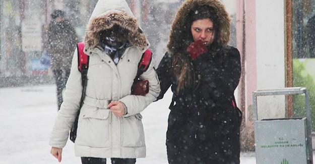Soğuk Hava Balkanlar'dan Giriş Yaptı