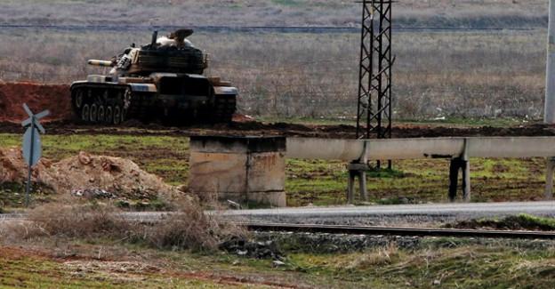 Suriye Sınırına Tank ve Ağır Silahlar Yığıldı!