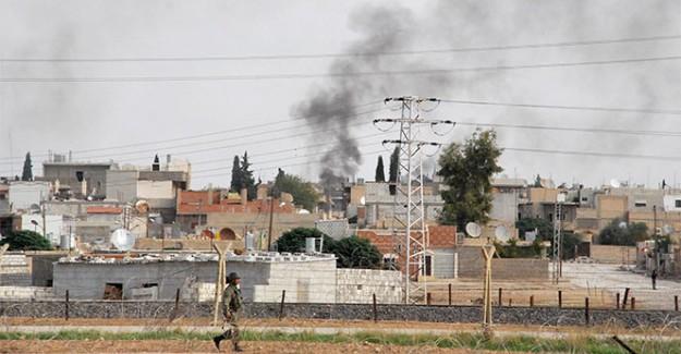 Suriye Sınırında Korkutan Patlamalar!