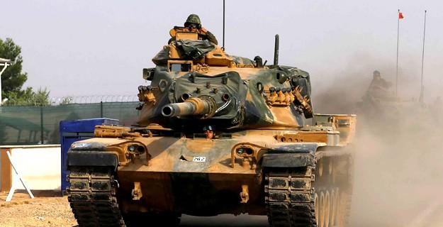 Suriye'de 25 Hedef 105 Atışla İmha Edildi