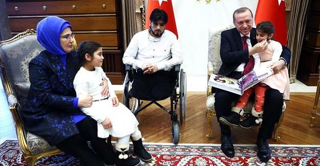 Suriye'deki Gözyaşının Simgesi Suriye'li Gözyaşı; Erdoğan Amca...