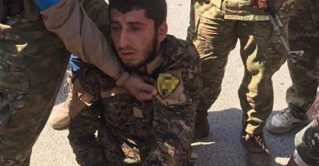 Suriye'deki YPG'lilerin Üstünde Şoke Eden Arma!