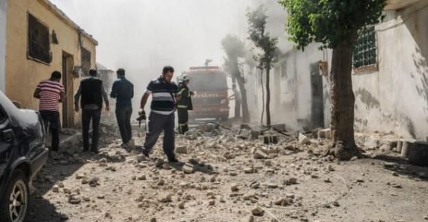 Kilis'e Roketatar Mermisi Atıldı! Yaralılar Var