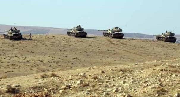 Tanklar da Sınırı Geçti, Suriye'ye Girdi!