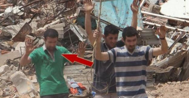 Teslim Olan Terörist 'Sivilim' Dedi Ama Bakın Kim Çıktı?