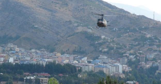 Tunceli'de 3 Terörist Öldürüldü! Kobra Helikopterler Operasyonda