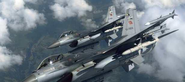 Türk Jetlerinden PKK Kamplarına Ağır Bombardıman!
