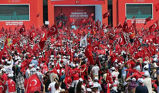Türkiye Tek Yürek... Milyonlar Demokrasi Nöbeti İçin Yenikapı'da