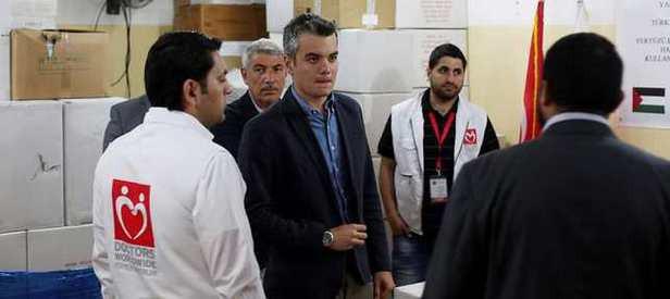Türkiye'den Gazze'ye tıbbi malzeme yardımı
