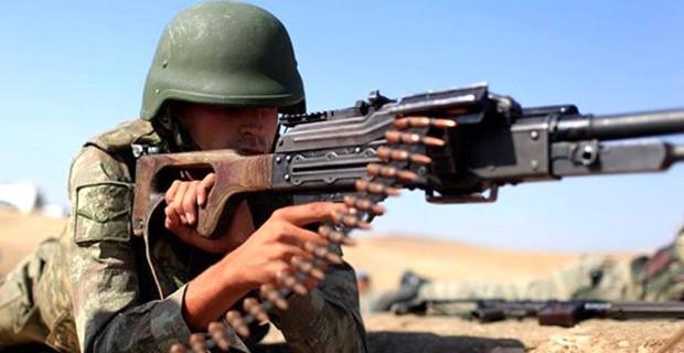 Üstlere Saldırı Hazırlığı Yapan 5 Terörist Vuruldu!