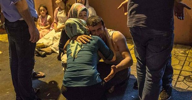 Yaralanan Gelin İsyan Etti: Düğünümüzü Kana Buladılar