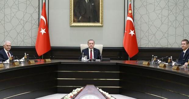 Yeni Hükümetin İlk Bakanlar Kurulu Toplantısı Sona Erdi