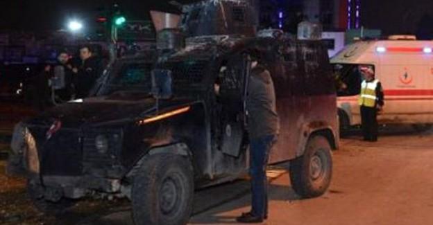 Yüksokova'da Polis Aracına Roketatarlı Saldırı