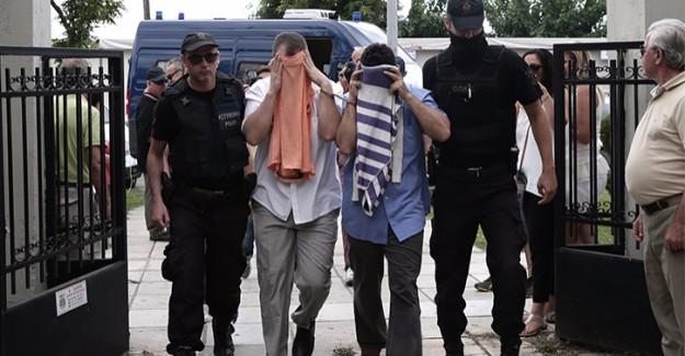 Yunanistan'a Kaçan FETÖ'cüler Yalvardı: Bizi Erdoğan'a Vermeyin!