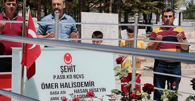 15 Temmuz Kahramanı Ömer Halisdemir Mezarı Başında Anıldı