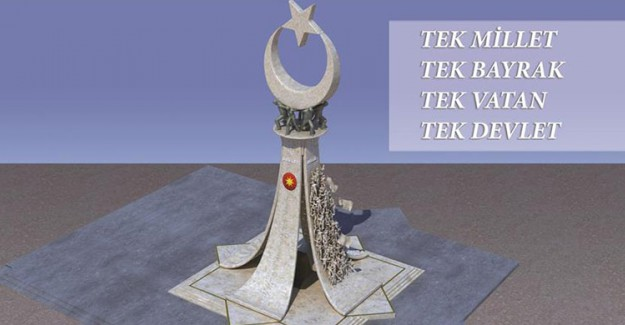 15 Temmuz Şehitler Anıtı Külliye'ye Yapılıyor