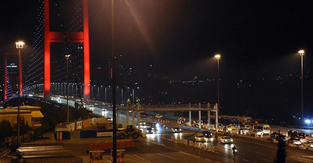 15 Temmuz Şehitler Köprüsü Yeniden Hizmete Açıldı!