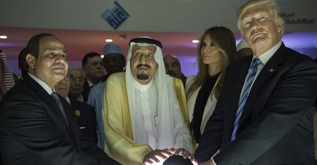 ABD Başkanı Trump Arap Ülkelerini Soydu Soğana Çevirdi