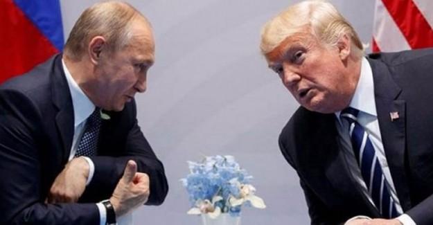 ABD Başkanı Trump Putin'e Kendi Üslubunca Teşekkür Etti!