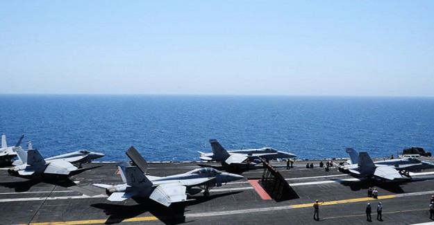 ABD Bombardıman Uçakları Kore Hava Sahasında