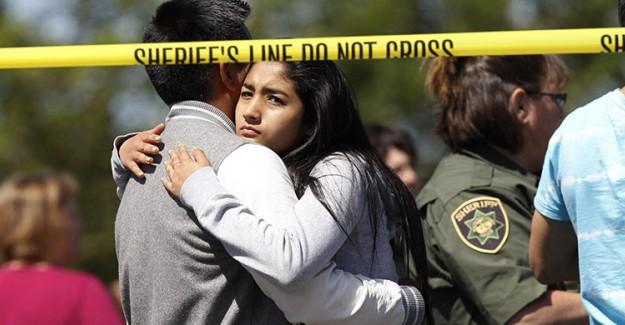 ABD'de Okul Saldırısı! Ölü Ve Yaralılar Var